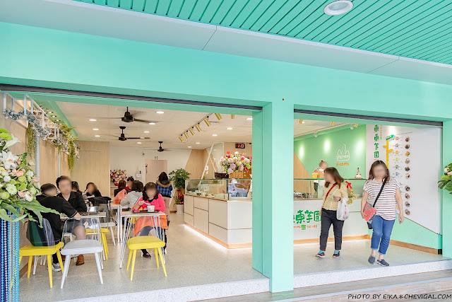 MG 7198 - 東東芋圓最新分店來啦!超美蒂芬妮綠雙店面,內用外帶人潮滿滿滿~