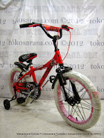 Sepeda Anak United Motocross 18 Inci - Red