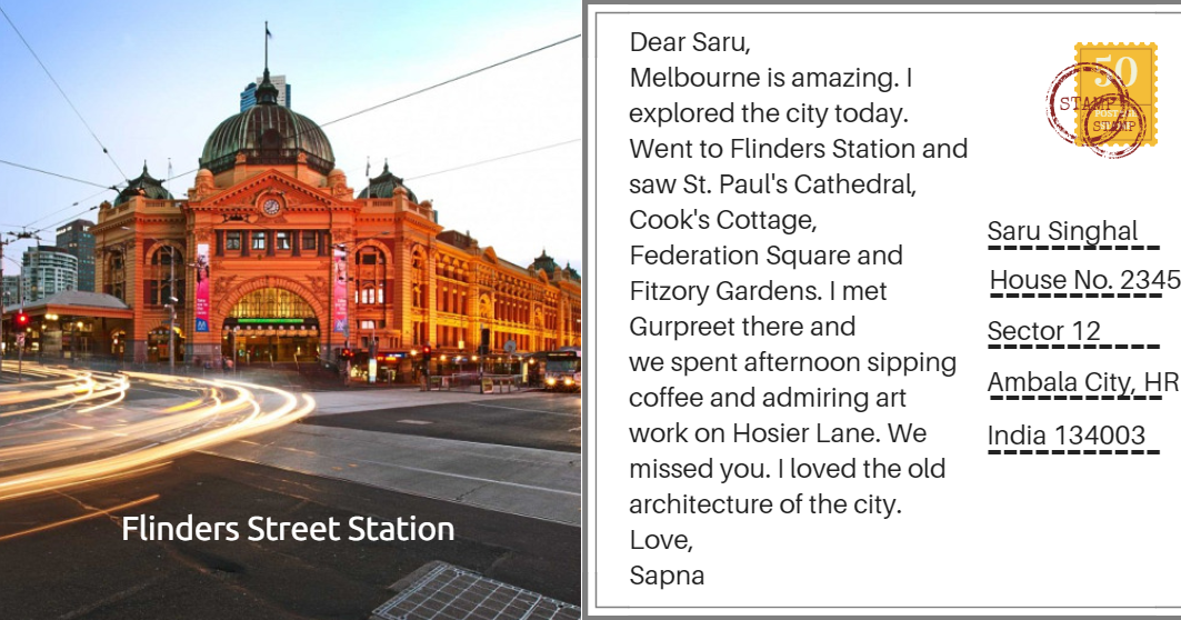 Postcards From Melbourne