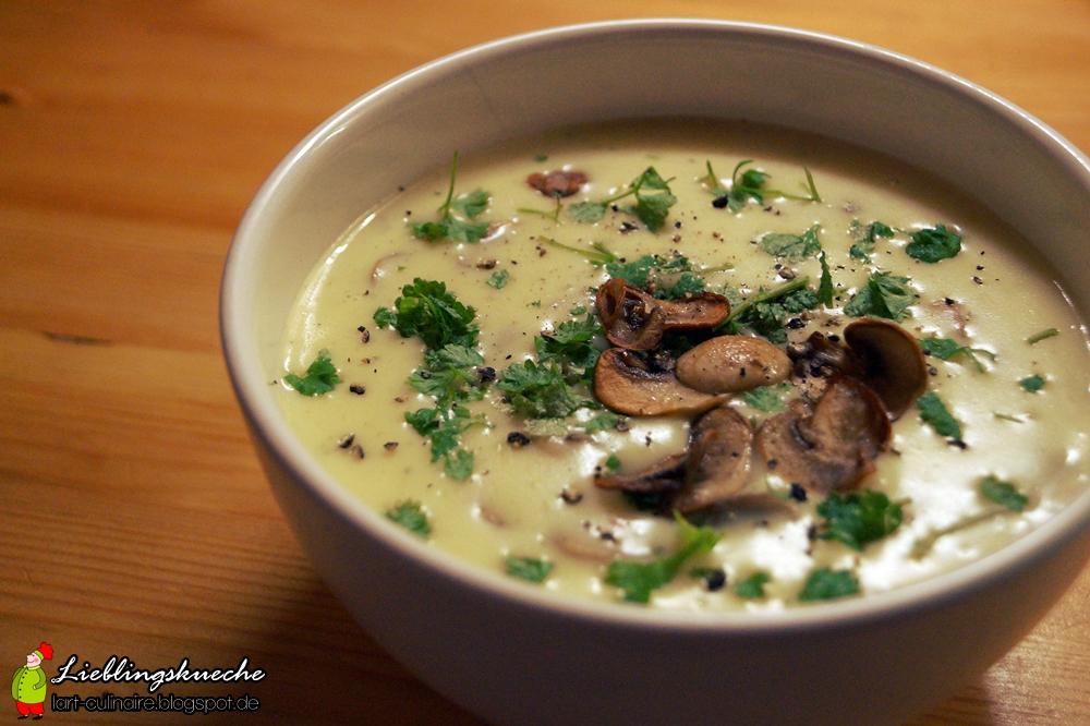 Champignon-Creme-Suppe