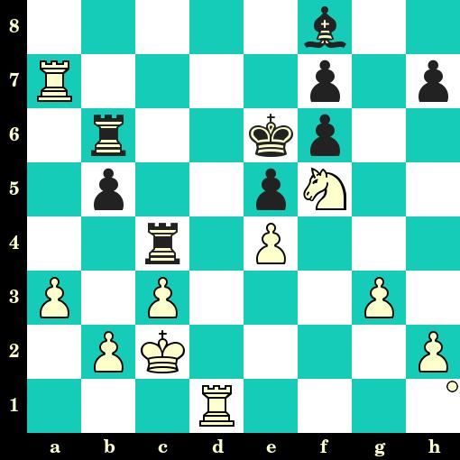 Les Blancs jouent et matent en 2 coups - Dragoslav Andric vs Luigi Santolini, Caorle, 1981