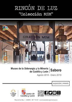 exposición, lámparas, minería, mineras, museo, siderurgia, Sabero