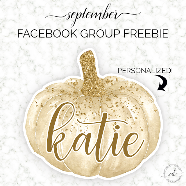 September Freebie Exclusives: Newsletter and Facbook group freebies. #freebie #free #printables #wallpapers