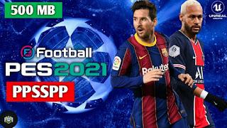Télécharger PES 2021 PPSSPP Android Offline Nouvelle mise à jour et meilleurs graphiques