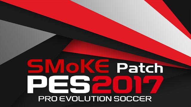 Update Patch PES 2017 Terbaru dari SMoKE V9.5.2