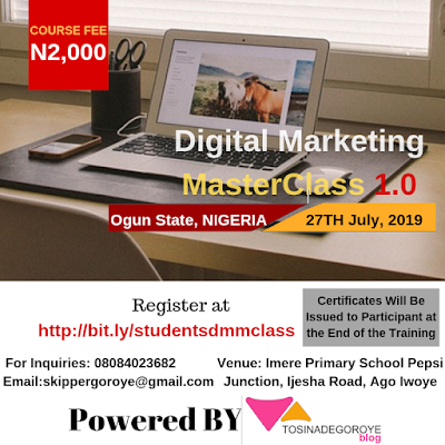 *Digital Marketing Master Class 1.0 (Students/Campus Edition) – DMTClassNG*