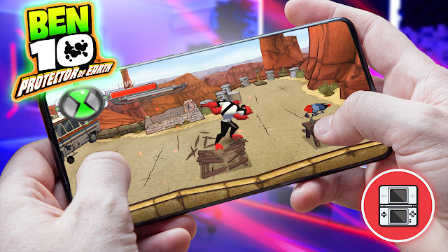 Ben 10: Protector of Earth Para Teléfonos Android (ROM NDS)