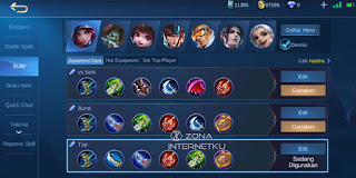 Natalia's build is the sickest and strongest in Mobile Legends Game