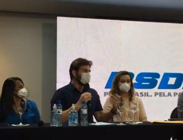 Bruno agradece 'gesto' do PSDB em apoiar Romero e diz que espera contar com PL e Progressistas na aliança