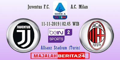 Prediksi Juventus vs AC Milan — 11 November 2019