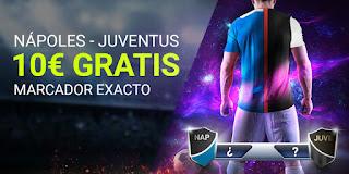 Luckia promocion Napoles vs Juventus 26 enero 2020