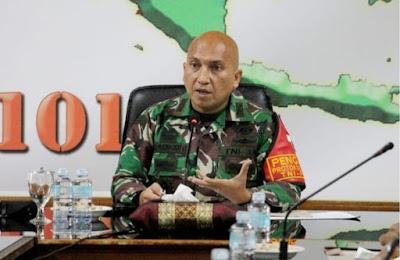 Rakor Tentang Penerapan Disiplin Prokes Covid 19 di wilayah di pimpin oleh Dandim 0101/ Aceh Besar