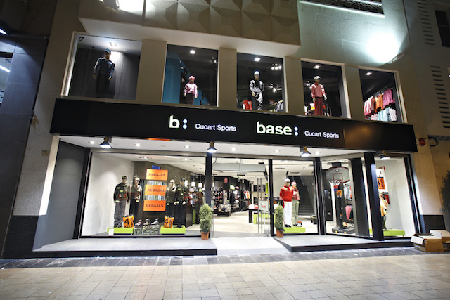Loja Base em Barcelona