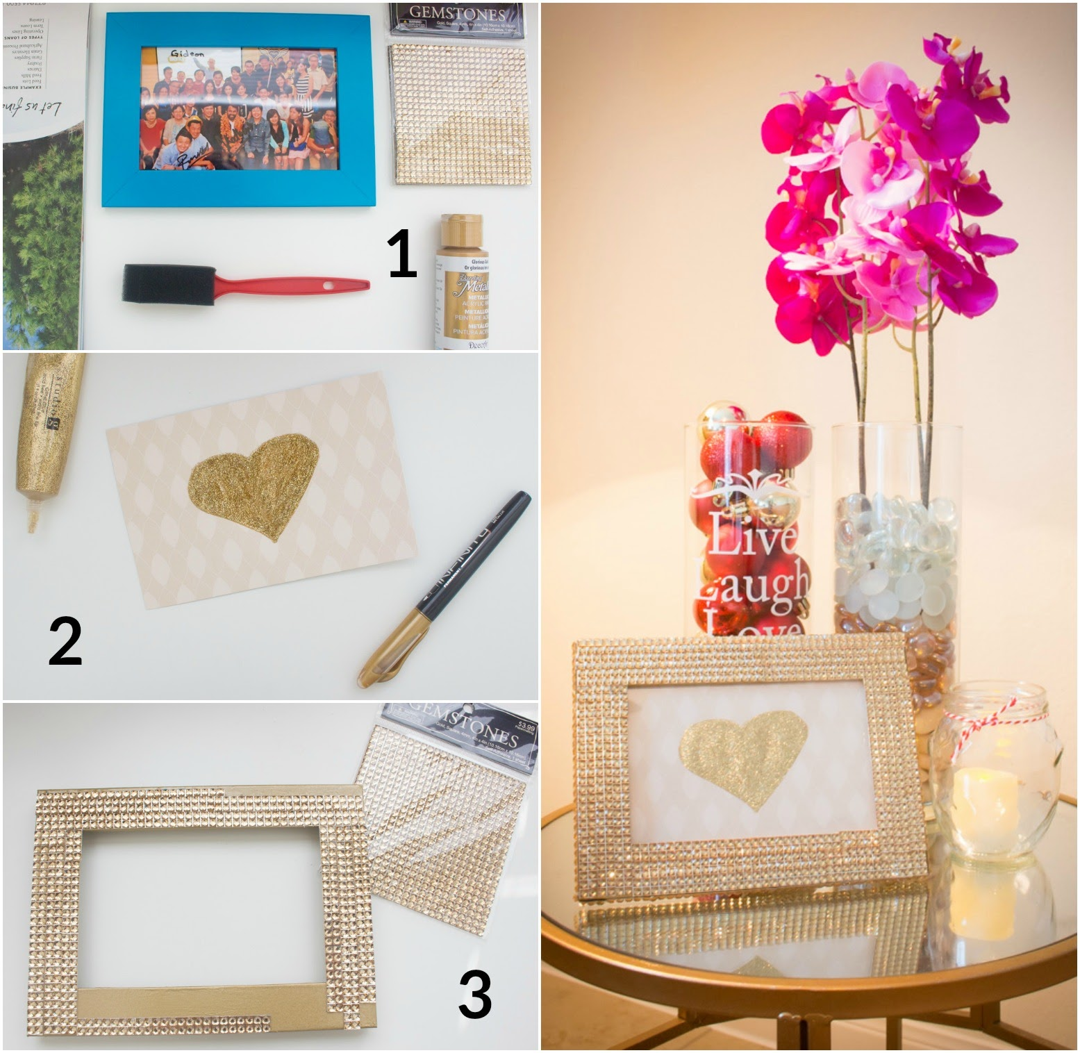 Ikea Hack: How to Glamourize Ikea's Nyttja Picture Frame