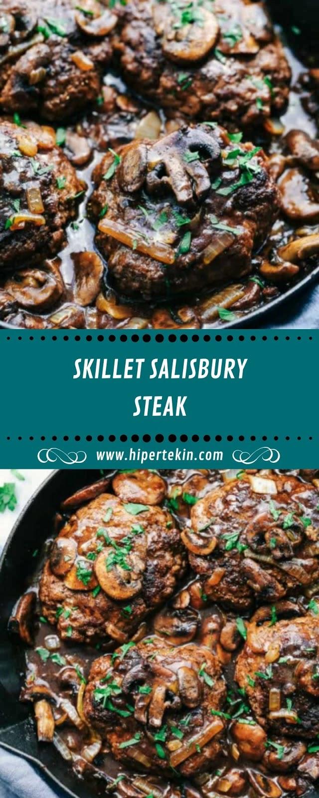SKILLET SALISBURY STEAK