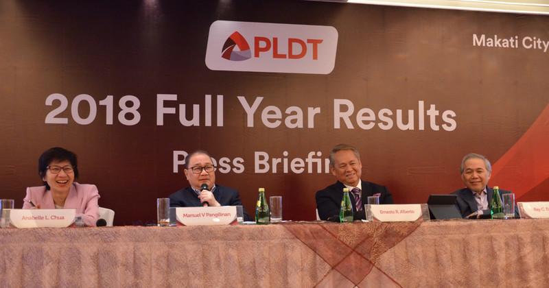 "2018, a ""breakthrough year"" for PLDT"