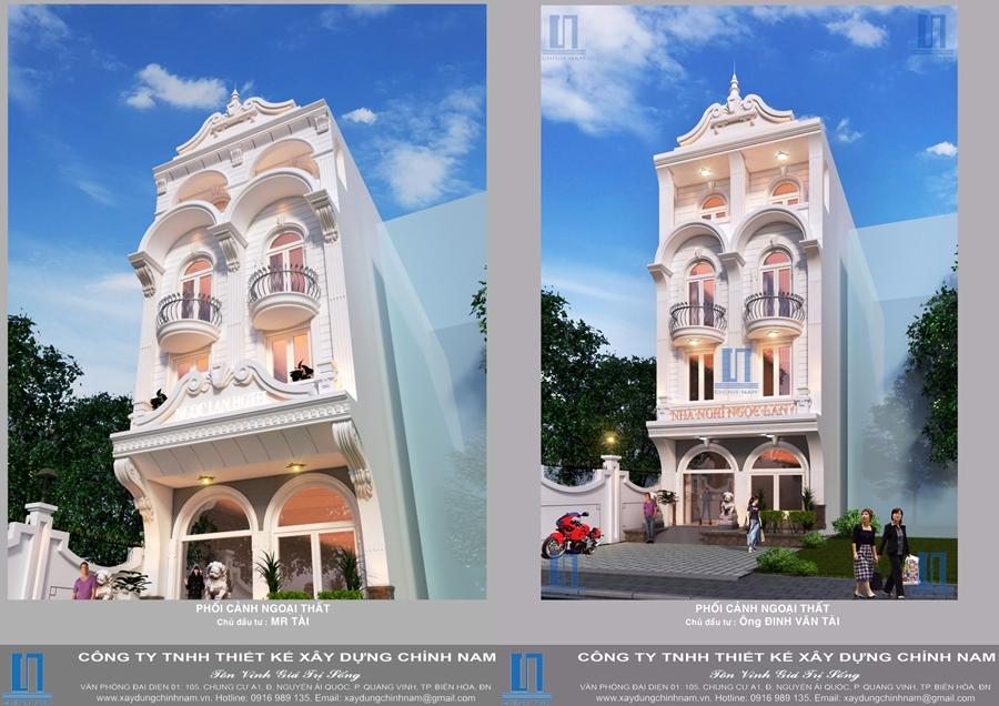 CC05: Thiết kế thi công trọn gói nhà nghỉ Mạnh Tài ở Tam Hòa, Biên Hòa, Đồng Nai