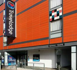 Exterior of Travelodge Newhall, Birmingham