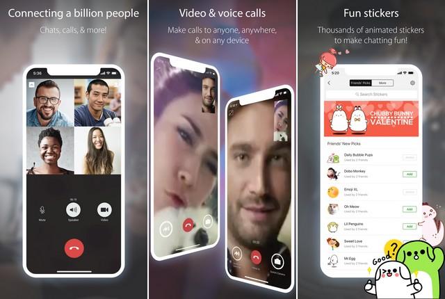 تطبيقات دردشة فيديو للايفون
