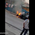 Car Burns Down at Street, Netizens Angry at Video Uploader for Comments