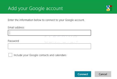 Cara Menambah Akun Gmail ke Windows 8