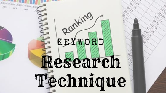 Keyword Research Technique for beginners