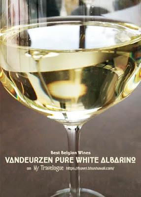 Best Belgian Wine Vandeurzen Pure White Albarino