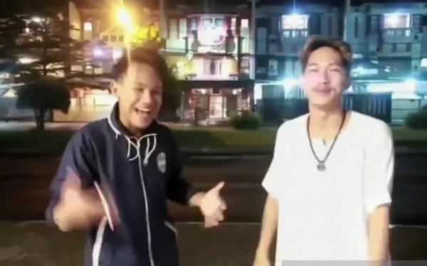 Polrestabes Bandung amankan satu rekan youtuber candaan bansos sampah