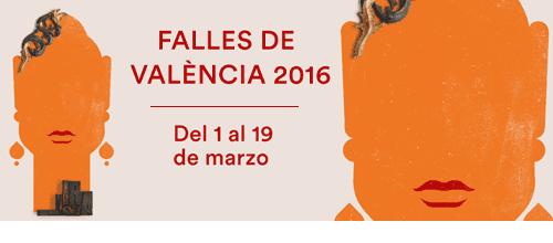 En tren a las Fallas de Valencia 2016