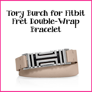 Tory Burch for Fitbit - Fret Double-Wrap Bracelet $175