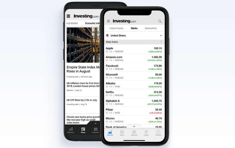 Aplikasi Saham Investing.com (investing.com)