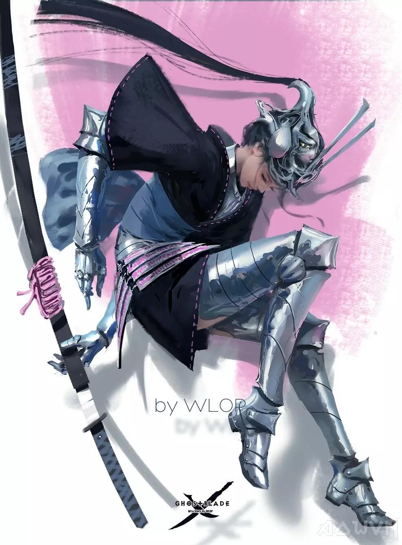 89 AowVN.org m - [ Hình Nền ] Anime Cực Đẹp by Wlop | Wallpaper Premium / Update