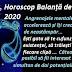 Horoscop Balanță decembrie 2020