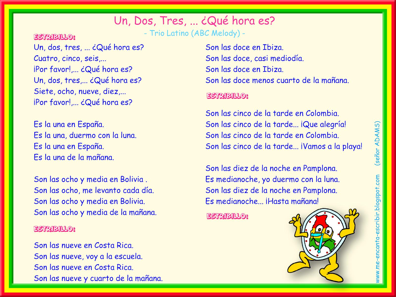 Me Encanta Escribir En Espanol Julio