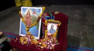 प्रचारक अजय जी पाटीदार को हिन्दू संगठनों द्वारा स्थानीय भावसार समाज धर्मशाला में दी श्रद्धांजलि