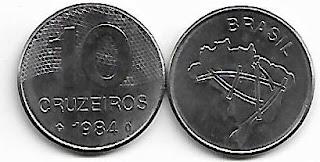 10 Cruzeiros, 1984