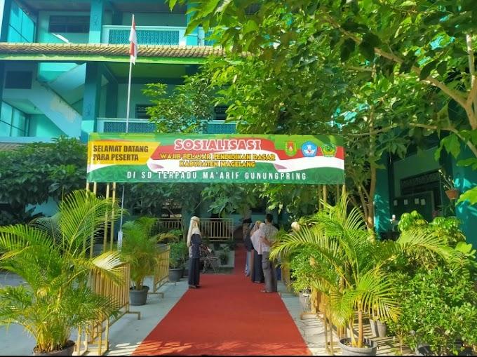 SD Terpadu Ma'arif Gunungpring gelar Sosialisasi Wajar(Wajib Belajar) Pendidikan Dasar (Dikdas)