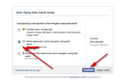 cara mudah mengembalikan password facebook karena lupa