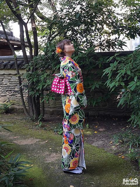 Béné no Fukuoka ! , Fukuoka Kimono Walk