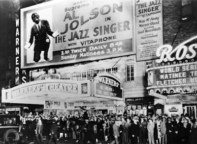 Estreno El cantante de Jazz, 1927