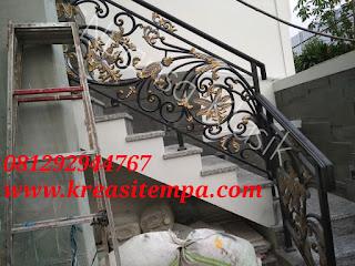 tangga servis besi tempa klasik pejaten 1