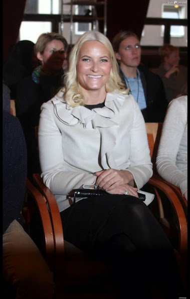 Princess Mette Marit at the launch of the