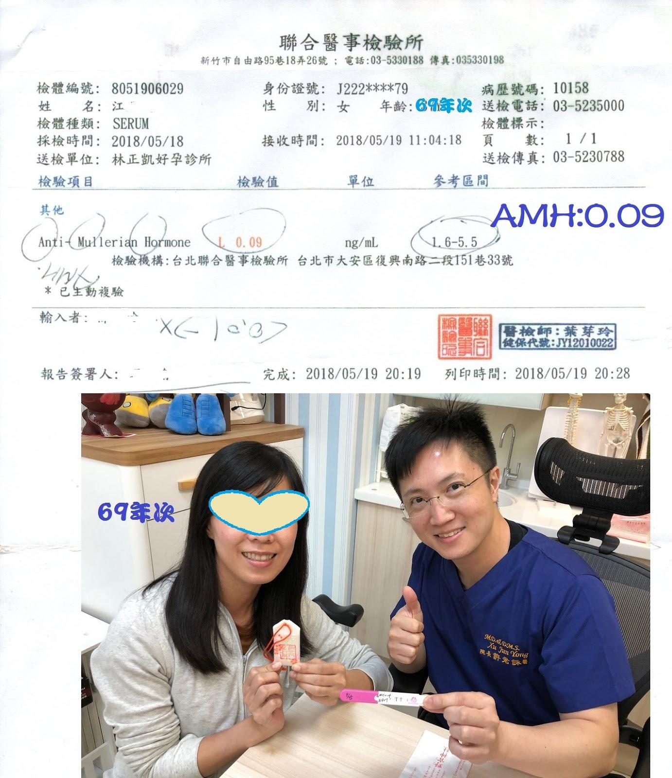 許君詠醫師(詠恆中醫診所): 卵巢早衰.AMH低.~真的無救了嗎?錯!。詠恆中醫分享喜悅