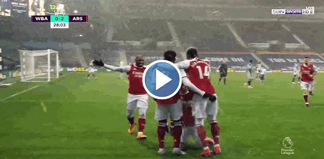 West Bromwich Albion vs Arsenal Live Score