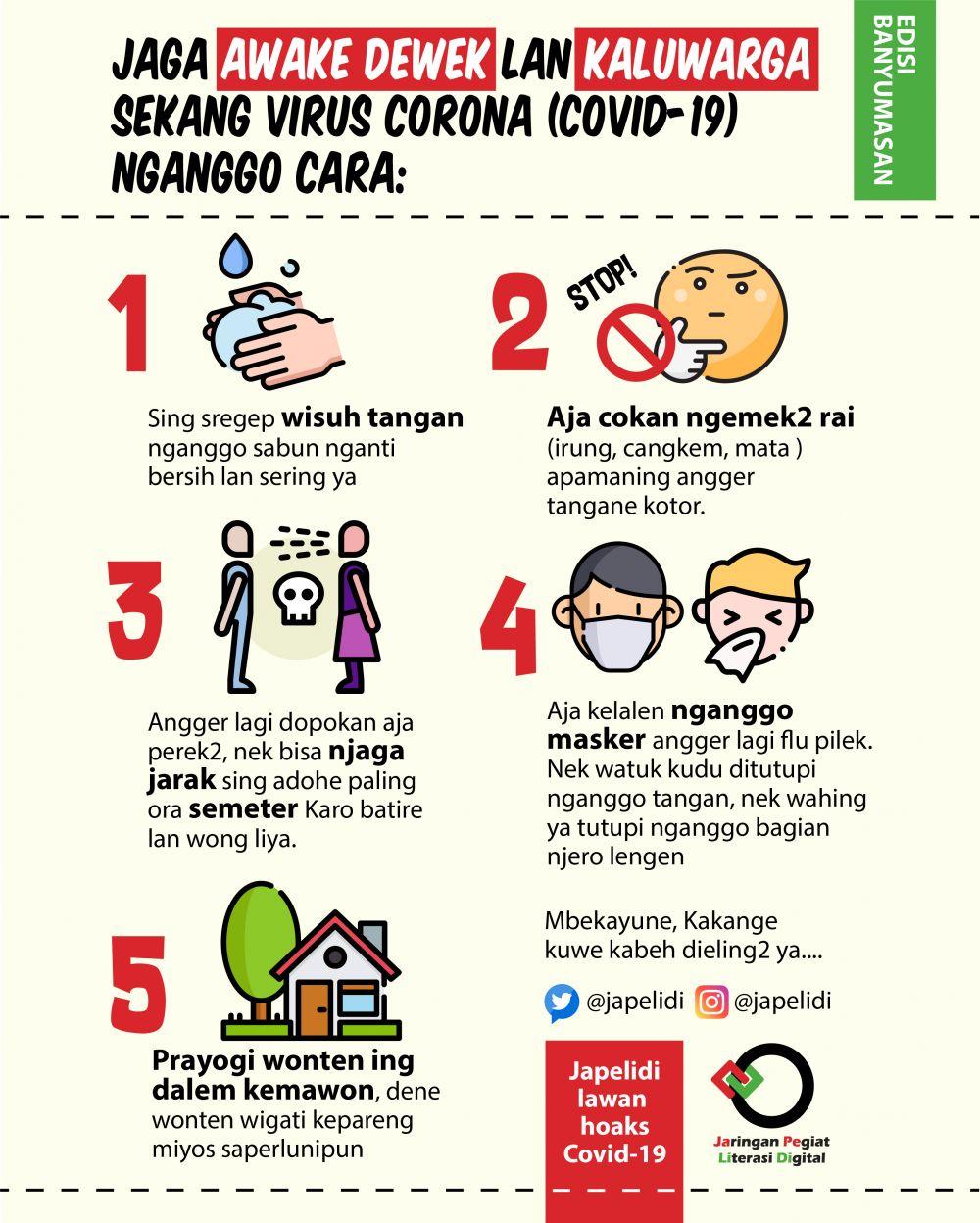 Contoh Gambar Poster Himbauan Tentang Virus Corona, Mudah ...