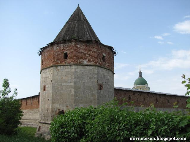 Зарайский кремль - Казённая башня