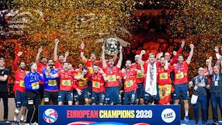 BALONMANO - Campeonato de Europa masculino 2019 (Austria / Noruega / Suecia): España es bicampeona de Europa y pisa el podio por 4ª vez consecutiva