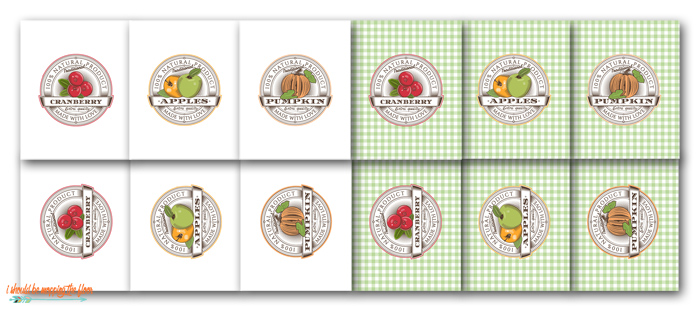 Free Printable Fruit Crate Labels