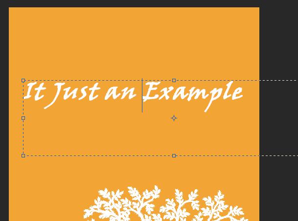 Setting font di Photoshop