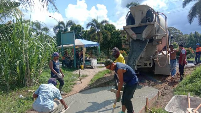 Masyarakat Keluhkan Pembangunan Jalan Lingkungan Akhirnya dijawab Kabid Bina Marga PUPR Dumai